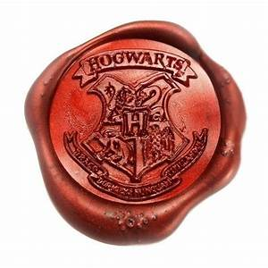 harry potter hogwarts school ministry of magic wax seal With harry potter letter seal