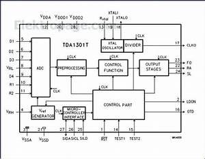 Tda1301 Pinout Connection Diagram