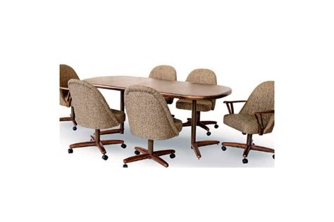 Chromcraft Kitchen Chairs With Casters by Chromcraft Caster Chair Dining Room Concepts