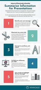 Presentation Design Guide  How To Summarize Information
