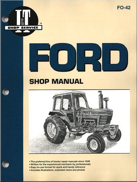 ford tractor repair manual    series