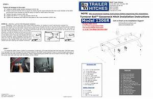 B U0026w Trailer Hitches Turnoverball Model 1306  Dodge  User