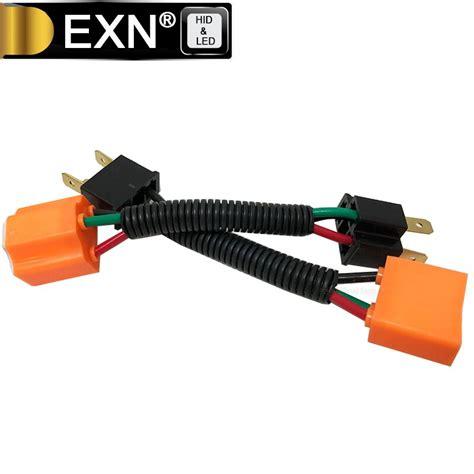 Heavy Duty Headlight Wiring Harnes by 2pcs H4 Heavy Duty Ceramic Wiring Harness Sockets For