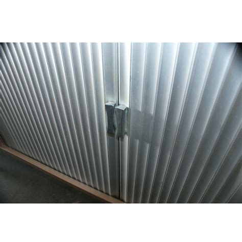 metal tambour doors for cabinets 63 quot mid century tambour door metal credenza cabinet ebay
