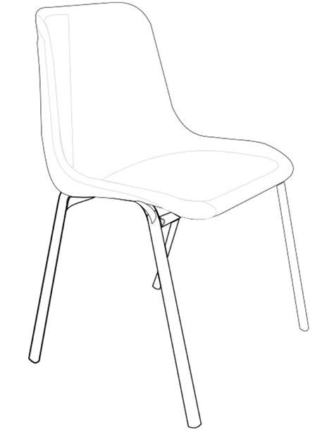dessin d une chaise coloriage chaise à imprimer gratuitement