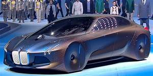 BMW Vision Next 100 concept car video - Business Insider