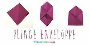 Comment Fabriquer Une Enveloppe : pliage enveloppe ~ Melissatoandfro.com Idées de Décoration