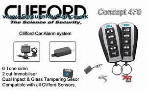 clifford concept 470 clifford car alarms car alarm With clifford car alarm systems