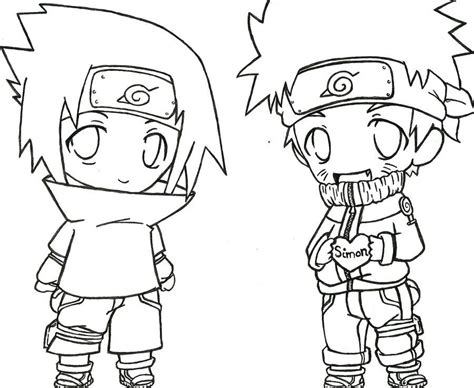 Printable Naruto Shippuden Coloring Pages