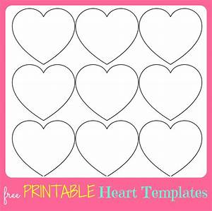 free printable valentine39s day to do lists With small heart template to print