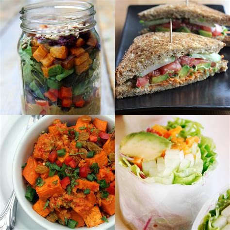 lunches for vegan lunches you can take to work popsugar fitness