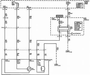 2002 Chevrolet Trailblazer Cooling Fan Wiring Diagram