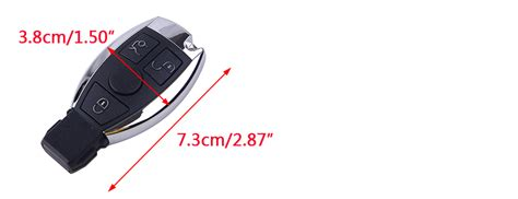 Do you know of a better way to fix or replace a car key fob? 433MHz 3 Buttons Keyless Remote Car Key Fob Replace fit for Mercedes 2000-2017 | eBay