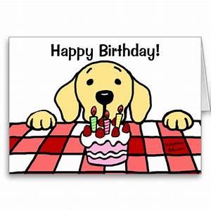Yellow Labrador Watching You Birthday Card Labradors Dog And
