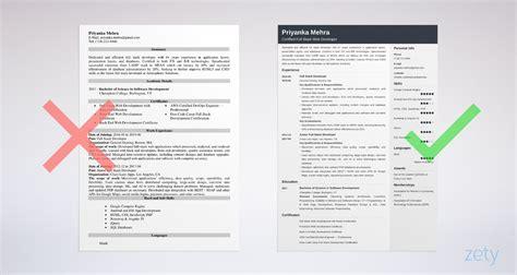 full stack developer resume sample java  net
