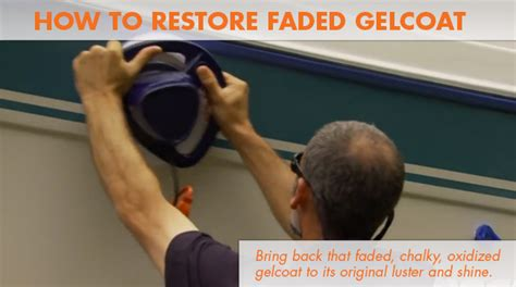 How To Restore Boat Rub Rail 187 how to restore faded gelcoat on a boat
