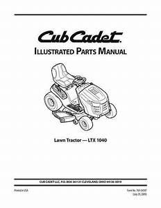 Wiring Diagram Model 2135 Cub