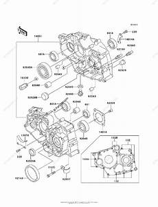 Kawasaki Atv 2004 Oem Parts Diagram For Crankcase