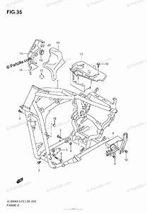Suzuki Motorcycle 2007 Oem Parts Diagram For Frame  Model