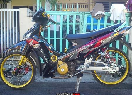 Modif Supra X 125 Ring 17 by Quot Media Cara Modifikasi Velg Jari Jari 17 Inci Quot Honda