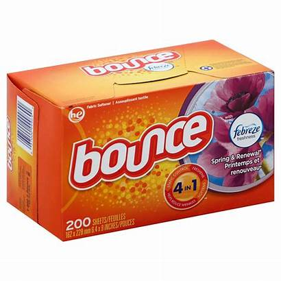 Dryer Sheets Bounce Fabric Softener Spring Renewal
