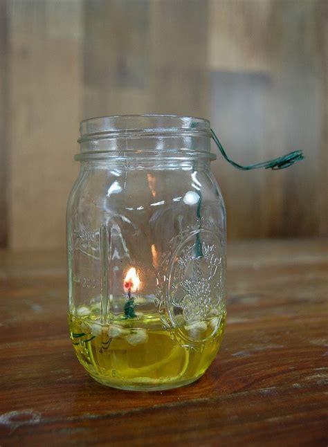 mason jar oil lamp diy projects craft ideas