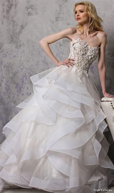 yumi katsura spring  wedding dresses wedding inspirasi