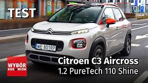 Citroen C3 Aircross 1 2 Puretech 110 Shine