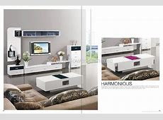 White high gloss mdf modern TV stand TV table CP027