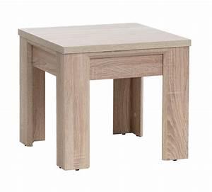 end table hallund 50x50 oak jysk With 50 x 50 coffee table