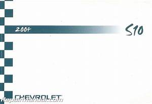 2004 Chevrolet S10 Owner U2019s Manual Used