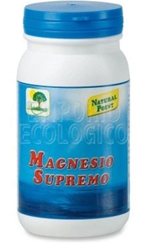 magnesio supremo in allattamento alcalinizzanti