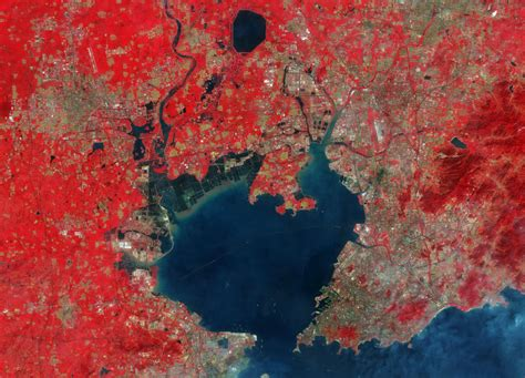 Earth From Space Qingdao China Spaceref