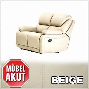 2 Er Sofa Mit Relaxfunktion : 2er sofa berano polsterm bel in beige wei mit relaxfunktion neu ebay ~ Bigdaddyawards.com Haus und Dekorationen