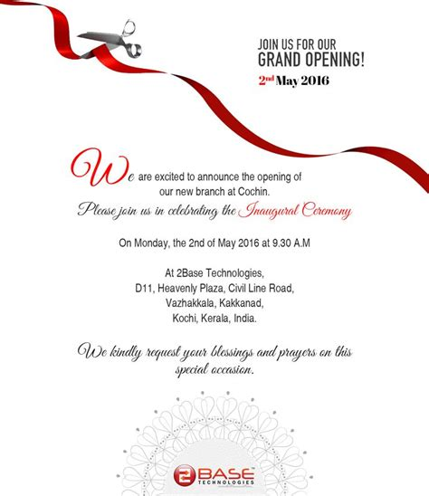 delighted  announce    opening