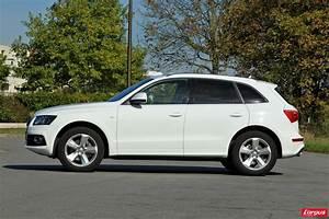Audi Q5 Blanc : infiniti ex vs audi q5 deux suv chauff s blanc photo 7 l 39 argus ~ Gottalentnigeria.com Avis de Voitures