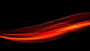 Orange And Black Background Hd