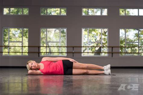 butt hip exercises side lying hip abduction