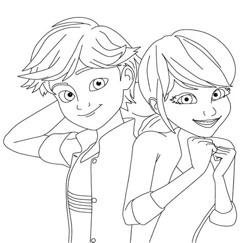 ladybug miraculous tale coloring pages print coloring