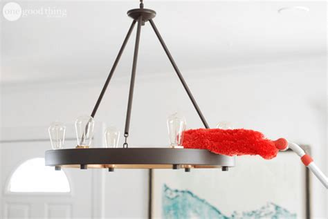 How To Clean Your Light Fixtures Like A Pro · One Good Kitchen Splashback Tiles Brgr Power And Light For Walls Best Store Appliances Island Lighting Pendants Walmart Red Fixtures Kits