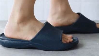 Slippers Bathroom Slither Damping Sole Comfort Into