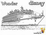 Coloring Ship Disney Cruise Royal Caribbean Ships Cruises Wonder Vacation Colouring Sheets Template Sketch Spectacular Boys Printables Yescoloring Templates sketch template