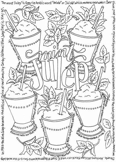 Coloring Dover Beer Wine Doverpublications Happy Cocktails