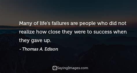 inspirational failure quotes  sayingimagescom