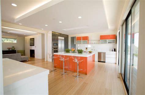 orange kitchen color scheme 20 awesome color schemes for a modern kitchen 3762