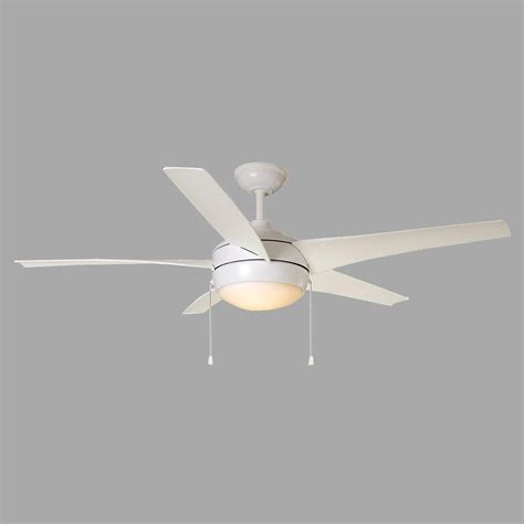 integrated led ceiling fan home decorators collection windward iv 52 in integrated