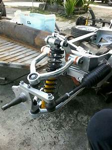 Custom Front Suspension For A Bug