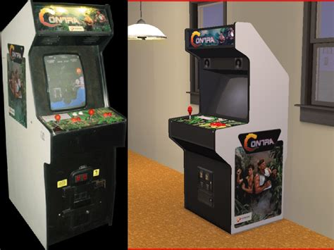 Mod The Sims Contra Arcade Game