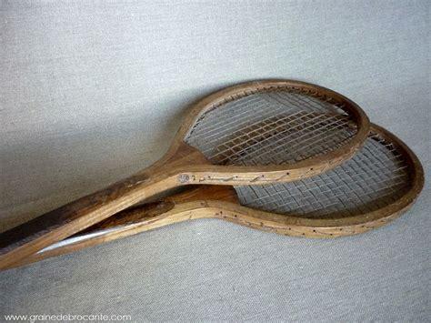 le bon coin table cuisine paire de raquettes de tennis anciennes en bois