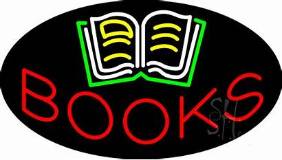 Neon Sign Books Signs Animated